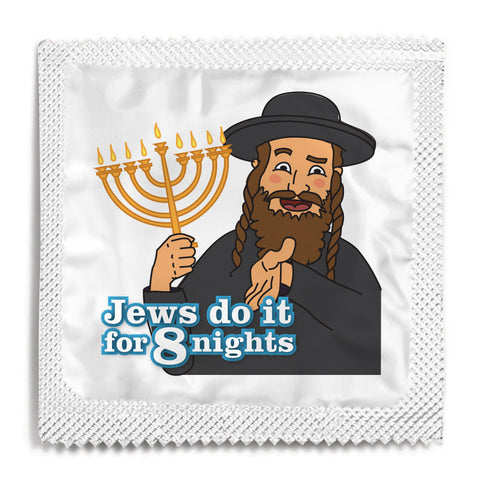 Jews Do It For 8 Nights Condom - 10 Condoms