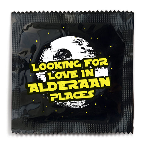 Looking For Love In Alderaan Places Condom - 10 Condoms