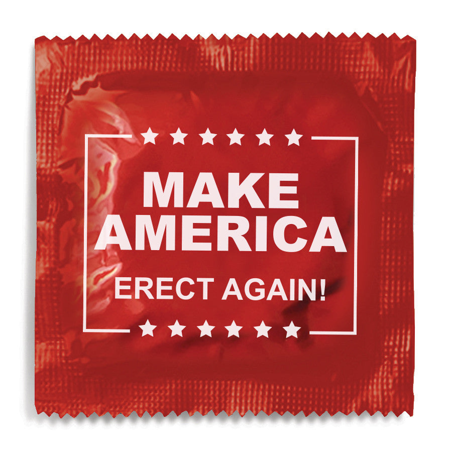 Make America Erect Again Condom - 10 Condoms