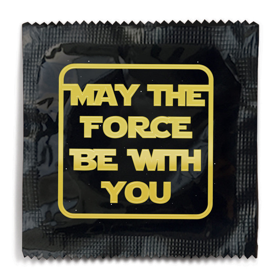 May The Force Be With You Condom Funny Condoms