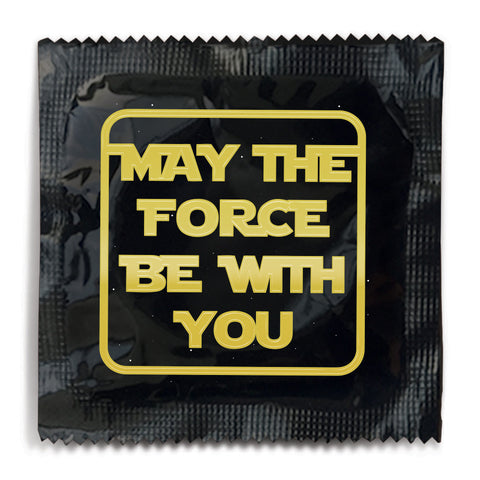May The Force Be With You Condom - 10 Condoms