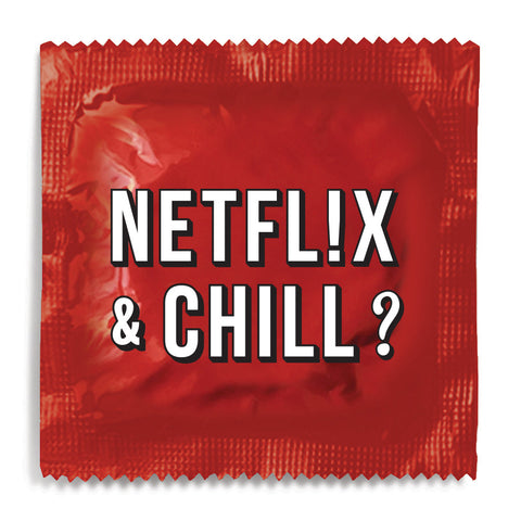 Netflix and Chill Condom - 10 Condoms