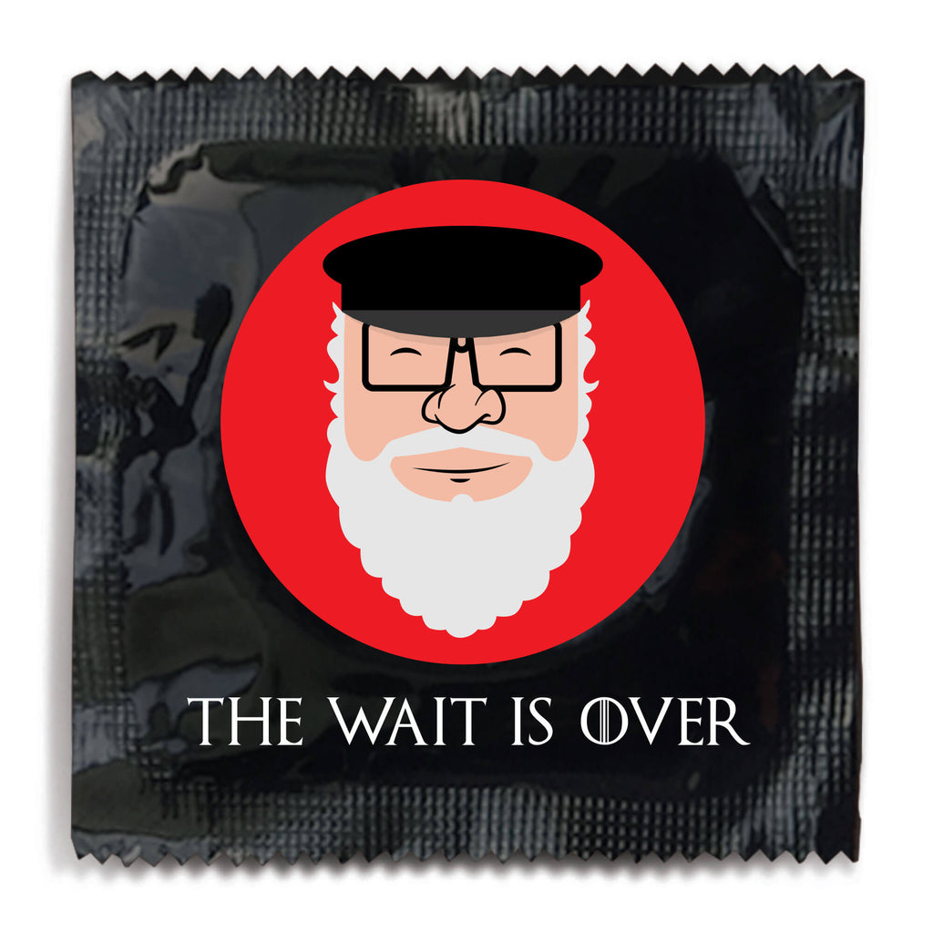 The Wait Is Over Game of Thrones Condom