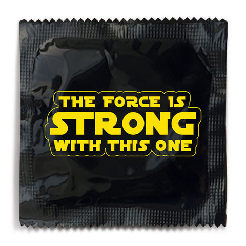 The Force Is Strong With This One Condom
