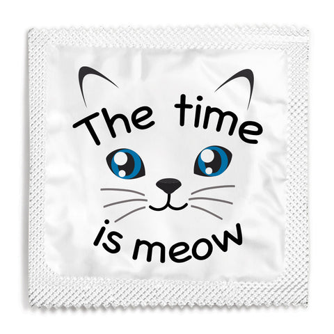 The Time Is Meow Condom - 10 Condoms