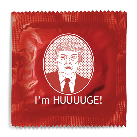Trump - I'm HUUUUGE Condom - 10 Condoms