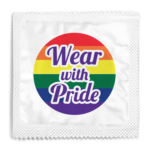Wear With Pride Condom - 10 Condoms
