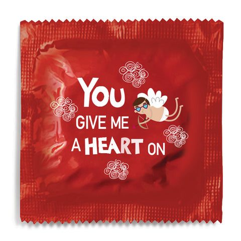 You Give Me A Heart On - 10 Condoms