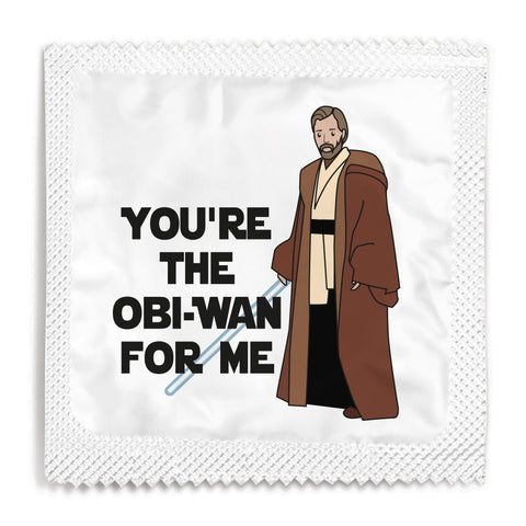 You're The Obi-Wan For Me Condom - 10 Condoms