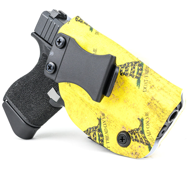 IWB - Kydex - Don't Tread Yellow Tile