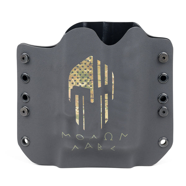 OWB Light Bearing Holster - Molon Labe Camo