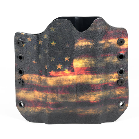 OWB Light Bearing Holster - USA Dark