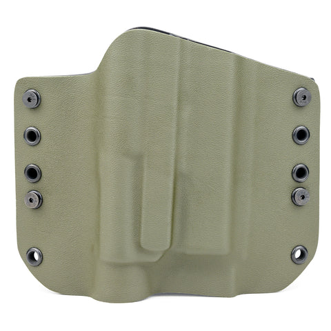 OWB Light Bearing Holster - Matte OD Green