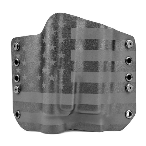 OWB Light Bearing Holster - USA Stealth Black