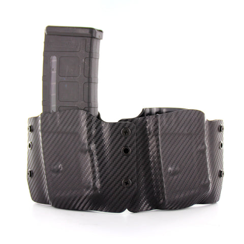 OWB - Double Magazine Holster for AR-15 and  Magpul PMAG