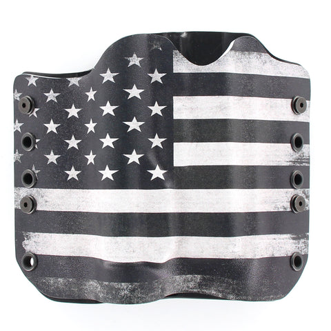 OWB Light Bearing Holster - USA B&W