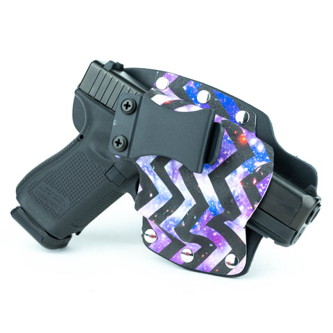IWB - Hybrid - Purple Chevron