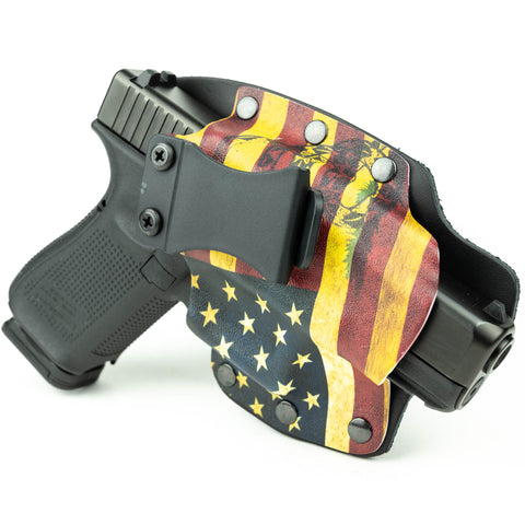 IWB - Hybrid - Don't Tread USA Yellow