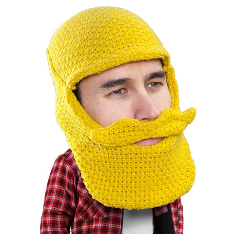 Beard Hat Beanie - Original Beard Balaclava Toque Beard HeadBeard Hat Beanie - Original Knit Beard Balaclava Toque Beard Head