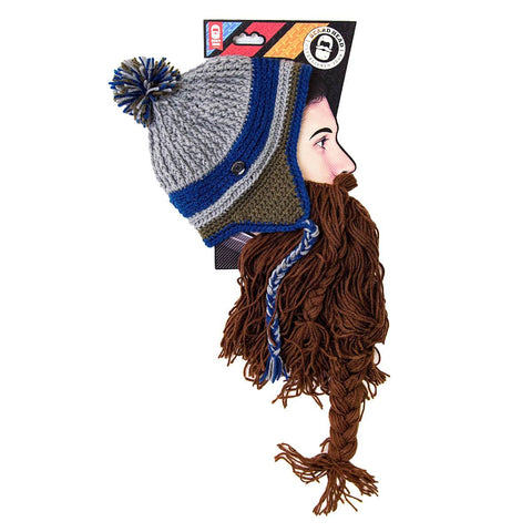 Beard Hat Beanie - Barbarian Hearth Beard Head