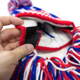 Beard Hat Beanie - USA Flag Patriot Beard Head
