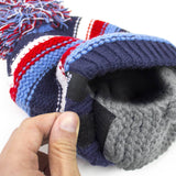 Kid Beard Hat Beanie - Cute Funny Baby Beard Head