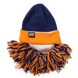 Tailgate Barbarian (navy/orange)