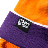 Tailgate Stubble (orange/purple)