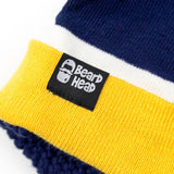 Tailgate Stubble (navy/yellow)