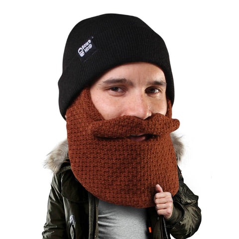 Beard Head - funny knit beard hat beanie