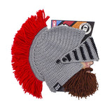 Beard Hat Beanie - Barbarian Knight Beard Head