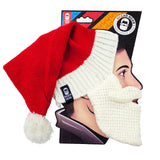 Beard Head - funny santa knit beard hat