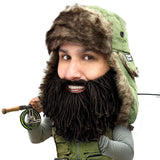 Trapper Beard Hat - Funny Fur Trapper Beard Head