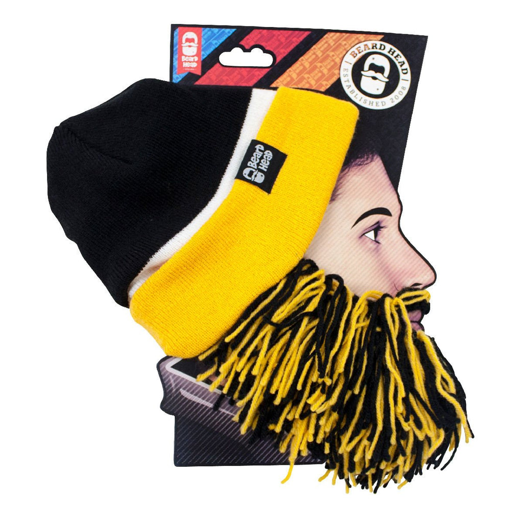 Beard Hat Beanie - Team Sports Tailgate Beard Head – Beard Head®