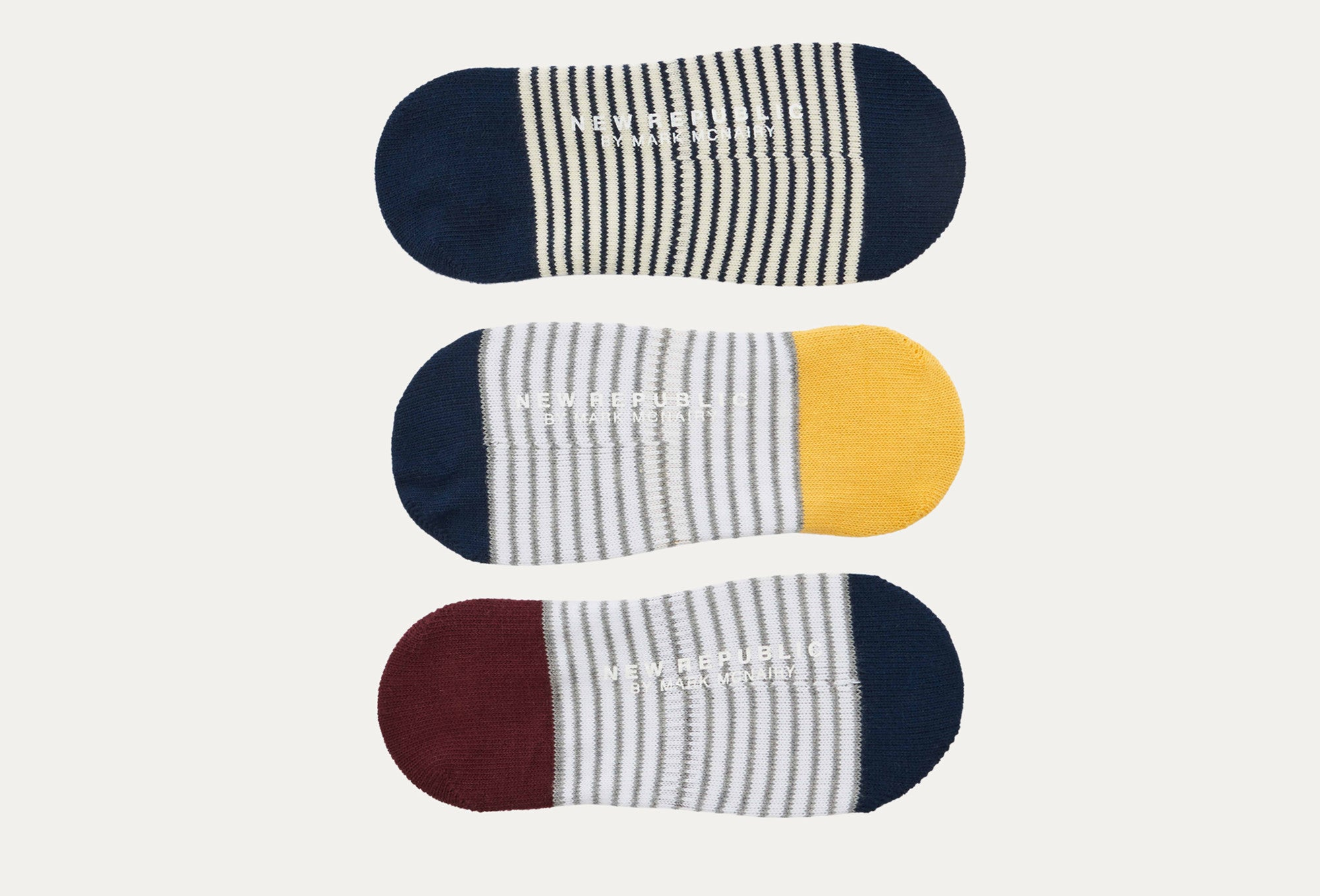 Dorchester 3-Pack No-Show Socks