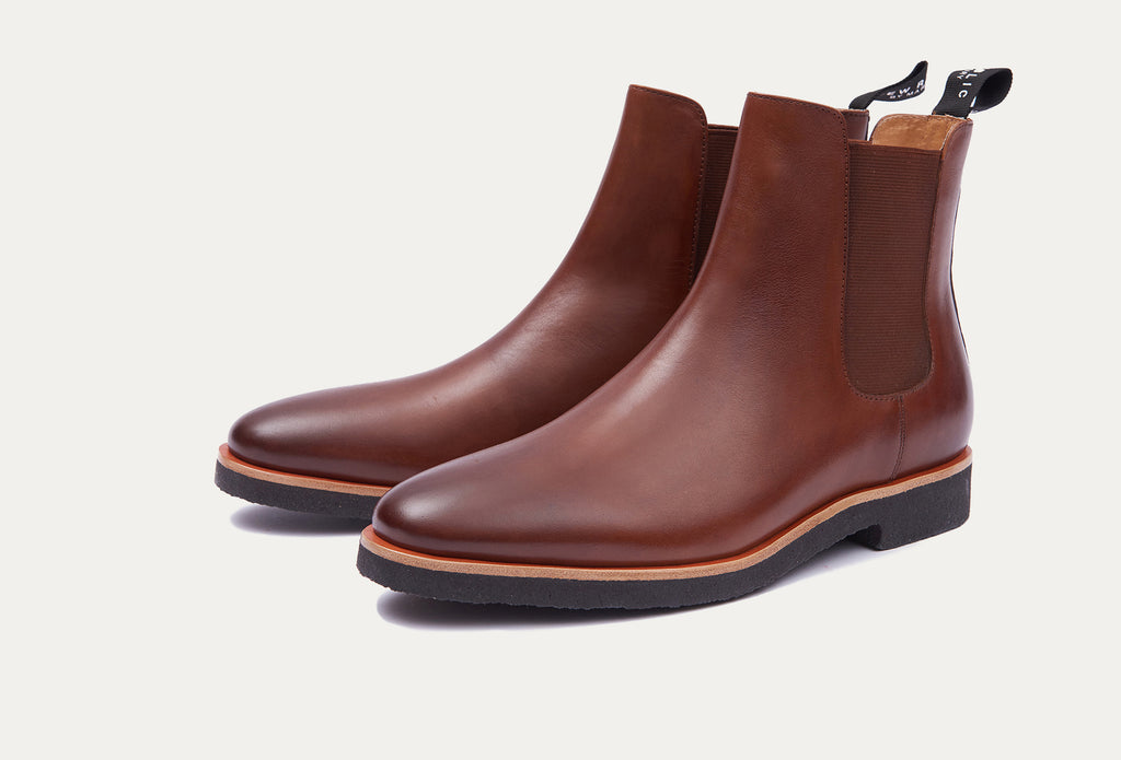 Huxley Leather Chelsea Boot