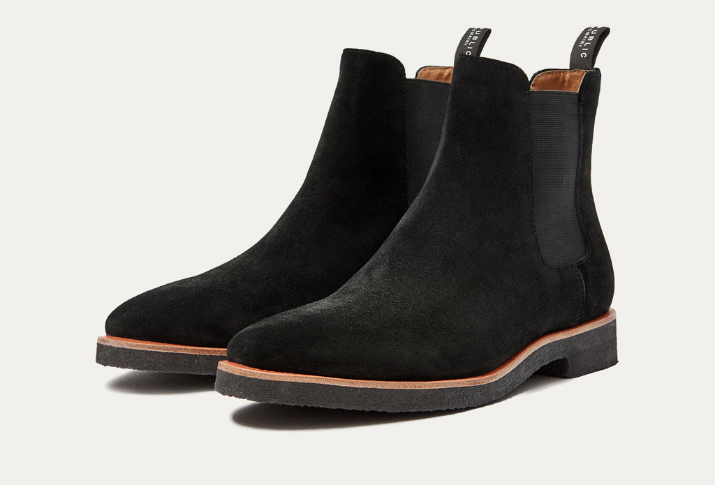 Harvey Suede Chelsea Boot