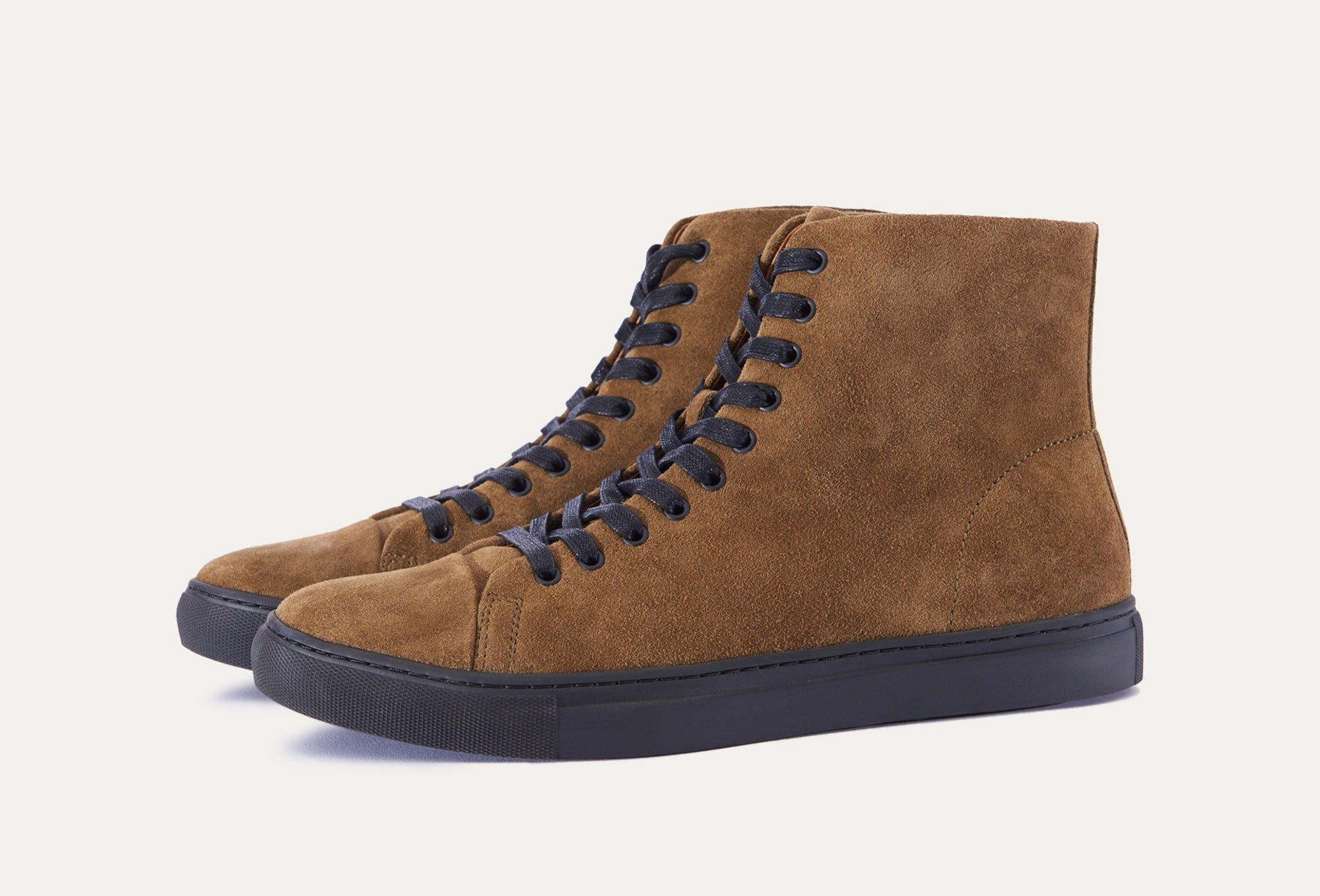 Lew Suede High Top Sneaker
