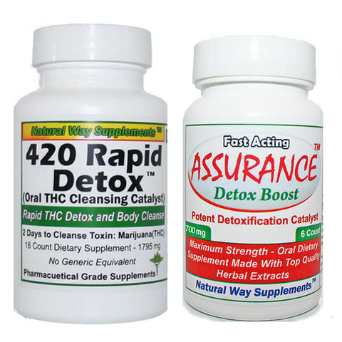 Detox Kit - 420 Rapid Detox plus Assurance Detox Boost