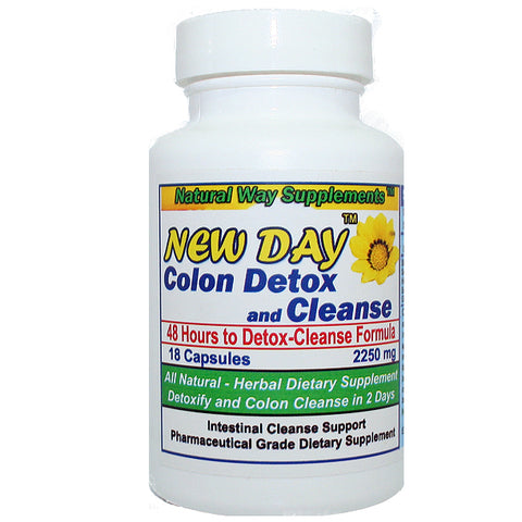 Colon Cleanse - New Day - 48 Hour Oral Colon Cleansing Catalyst