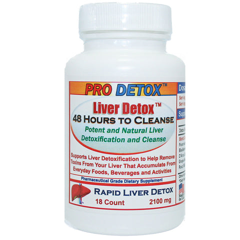 Liver Detox Cleansing Catalyst - 2 Days to Cleanse Formula