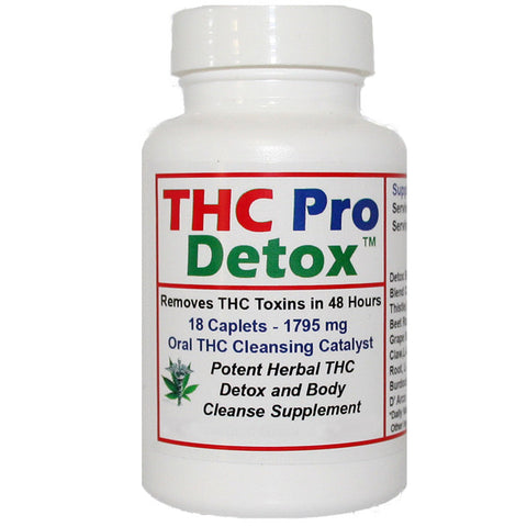 Detox Supplement - THC Pro Detox - Rapid 2 Days to Cleanse Formula