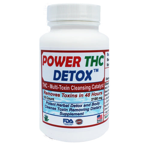 Multi-Toxin Detox - 48 Hours to Cleanse Formula - 18 Capsule Count