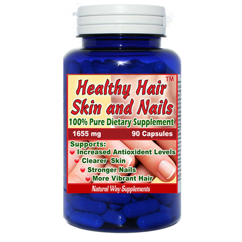 Hair, Skin and Fingernail Vitamin Supplement