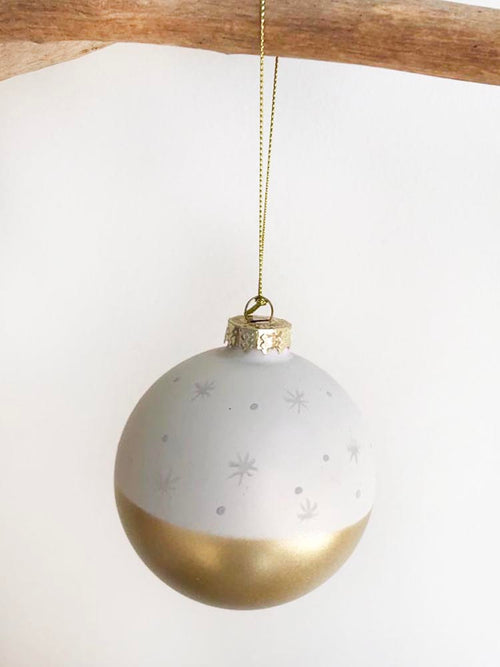 White Stargaze Ornament White