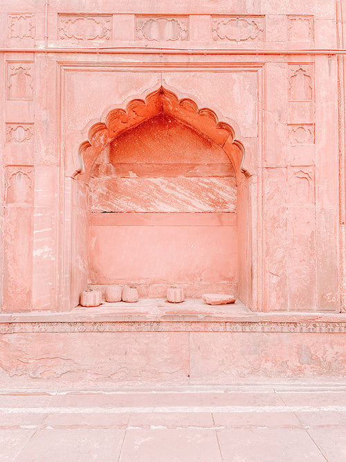 Pink Arch India Photo Print