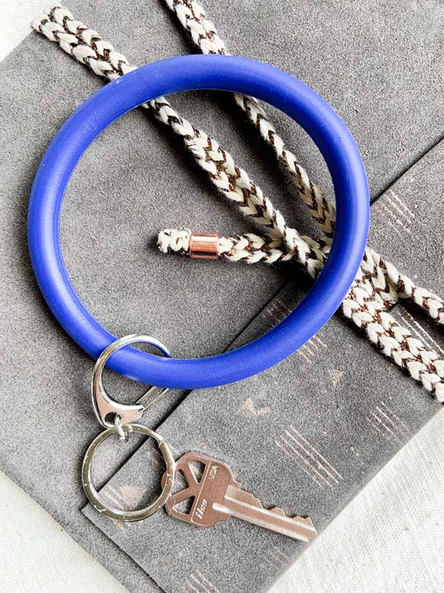 Blue Key Ring Bangle