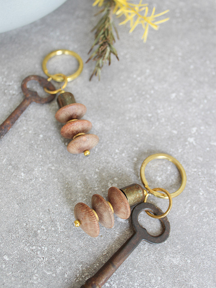 Vintage Skeleton Key Keychain