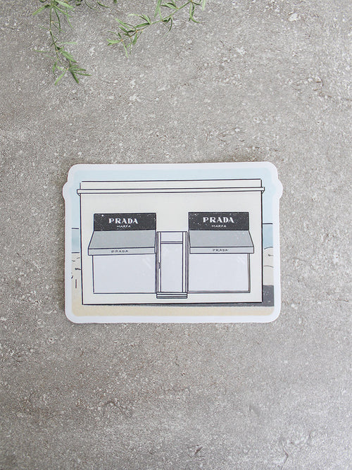 Prada Marfa Sticker
