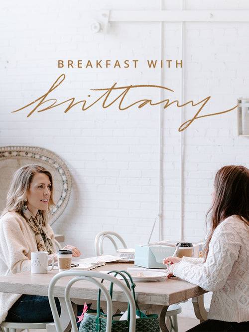 Breakfast with Brittany Mentor Session
